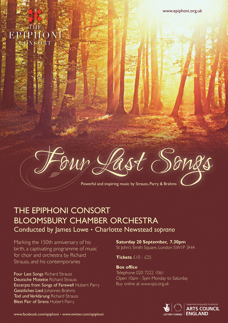 Epiphoni Consort/Bloomsbury Chamber Orchestra at St John's Smith Square, 20th September 2014